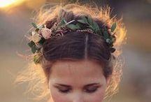 Bridal hairdos & accessories