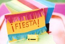 Fiesta / Vibrant & fun fiesta theme. / by Ruby Rabbit Partyware