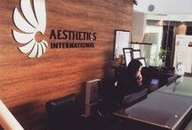 Aesthetics International - Everyday / Our team at work or play!