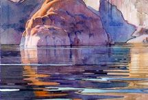 Art Ideas / Inspiration for watercolours and drawings