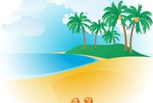 Free Summer Vector Graphics / Summer Vector Graphics Free Download. Summer background images, summer vector icons, beach vector background, Coconut palm tree silhouette vector, summer vacation greeting card design, summer floral pattern, beach landscape vector, tropical beach scenes, sand, sea water waves, sunrise and sunset – summer holiday vector illustration. ► Download now >>> http://www.123freevectors.com/free-vector-download/summer-vector/