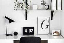 workspace / Home office and work space inspiration.