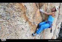 Nos vidéos / We, Francisco Taranto Jr. and I, Sandra Ducasse, produce climbing and travel videos.  #climbing #travel #videos