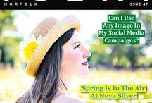 Iceni Magazine Covers / http://issuu.com/icenimagazine/docs/issue_10_flip_book?e=7583251/6504329
