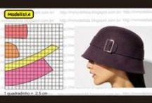 sewing pattern cap