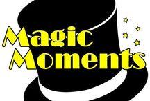 Magic Moments / Programma di intrattenimento ed informazione di Streamradio.it in onda tutti i lunedì dalle 21.00 alle 22.00 con Mago Diego, Denise, Luca Raffa e Davidino !