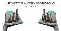 Architecture Portfolio / My own portfolio,focusing on Architecture
