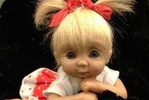panenka a její vybavení / vybavení pro panenku a výroba látkové panenky