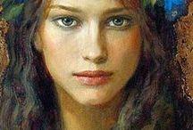 kresba a malba - hlava / kresba a malba hlavy