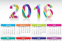 2016 Calendar Template / Free Download Printable 2016 Calendar Template Vector Graphics. 2016 Printable Monthly Calendar Designs.