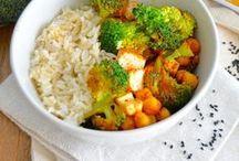 { Recettes végétales } / recettes végétariennes, recettes végétaliennes, quiches, tartes, pizza, burgers, salades, légumes, pâtes, riz, soupes, cakes, galettes, boulettes...