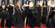 Golden Globes 2018 Red Carpet Dresses / #TimesUp movement takes to the Golden Globes 2018 red carpet, and we love the sentiment as much as we love the dresses. #striking #redcarpetdresses #style #fashion #goldenglobes