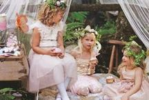 Faerie parties / Every little girl loves to be a faerie princess.  We've found some beautiful ideas for creating fabulous faerie parties at home...