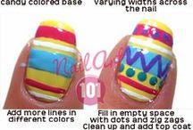 Nail Art 101 Tutorials