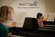 Music and Piano Lessons / Not your average music lessons! Here at Music Schools International we teach music as a language. In our fun and exciting group classes we cover all aspects of music education: listening, singing, playing, reading and writing!