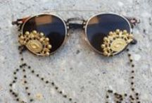 GET CREATIVE / Don't forget to have fun with your eyewear. There is always bigger and better frames to be worn.