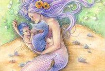 Mermaids / Splishing, splashing mermaids are one of the faeries' favourite friends!