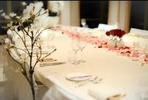 Wedding Dinner Settings / Wedding dinner settings at the highest level of Amsterdam