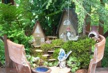 Faerie Gardens / Faerie Gardens are a beautiful addition to any home! ✨ Here are some ideas of how to make your own miniature faerie garden ✨