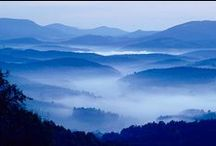 Blue Ridge Mountains / Blue Ridge Mountains, Virginia, Blue Ridge Parkway, North Carolina, Georgia, Georgia Mountains, Waterfalls, Snow in Blue Ridge Mountains, Grandfather Mountain, Biltmore