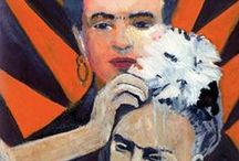 Frida Kahlo / http://www.nicho-poweredwithintention.com/portfolio/frida-kahlo/