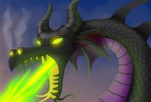 Dragon Fantasy Art / Dragon artwork and illustrations