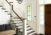 Staircases / Staircases, Stairs, Stair Ideas, Contemporary Staircases, Traditional Staircases, Colonial Staircases, Painted Staircases, Stenciled Staircases