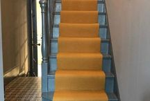 Staircase ideas / Interior inspiration & hallway styling tips.  Helping you find the perfect stair runner for your home.