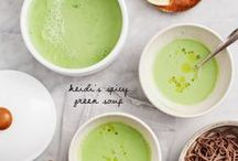 Healthy Vegan Soups / Delicious and warming healthy vegan soups. Perfect for a light meal.
