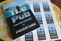 The Pub - A Murder Mystery by Peg Cole / A young woman finds herself working the fast paced night life in a lounge, surrounded by treachery, revenge, romance and even murder. Coming soon to Amazon.