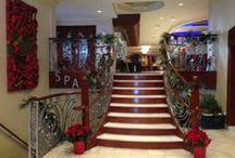 Holiday Decorations / Holiday Decorations around the Viana Hotel & Spa located in Westbury, NY.