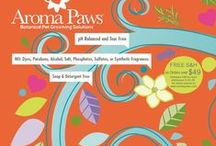 Aroma Paws / We provide Eco-Friendly Grooming Essentials using earth derived ingredients, essential oils & botanical extracts to benefit animals and the world they live in