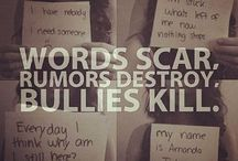Anti-Suicide and Bullying / This needs to end NOW / by Anna J