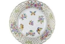 Hungary Herend porcelain / Herend  was founded in 1826. Specializing in luxury and hand painted and gilded porcelain.