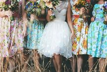 .BRIDESMAIDS DRESSES.