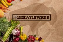 #1Meat12Ways – December / In order to showcase the many ways that meat can be prepared, we asked 12 chefs, foodies, and meat lovers to share their best dishes featuring Durham Ranch meat. December is all about bison.