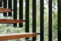 particolari / Immagini di interni di scale e loro particolari tecnologici