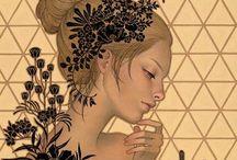 Illustrazioni Audrey Kawasaky
