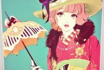 Illustrazioni Hiromi Motsuo