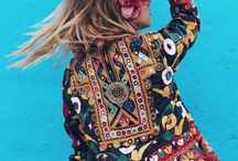 Indian jacket mirror embroidery