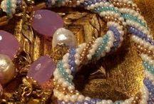 Spirale crochet perline