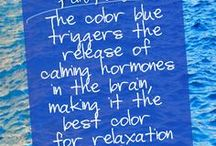 Blue- my favorite color in the wide world / by Rhonda S Dunn