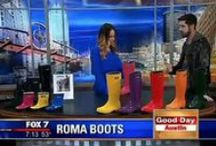 In the news! / People are talking...here's what they're saying about Roma.  / by Roma Boots