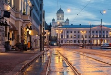 Helsinki, Finland. / My favourite city, such a beautiful place.