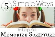 Homeschool:Bible, Faith, & Character-Building For Kids! / Resources for bible study, character building, and faith studies for kids. / by Demetria @ MomZest & Christian Homeschool Moms