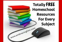 Free Homeschool Resources / ways to homeschool for free! websites and resources.