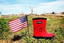 Roma Boots US Relief / Local relief efforts for our communities devastated by natural disasters.  / by Roma Boots