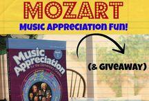 Homeschooling Music / Appreciating music in homechool
