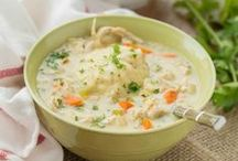 SOUPS / Do you love soup? This board has all sort of delicious and easy soup recipes!