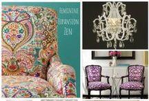 Elena's Office / Feminine, Glamourous, Spiritual, Zen, Organized, Expansive